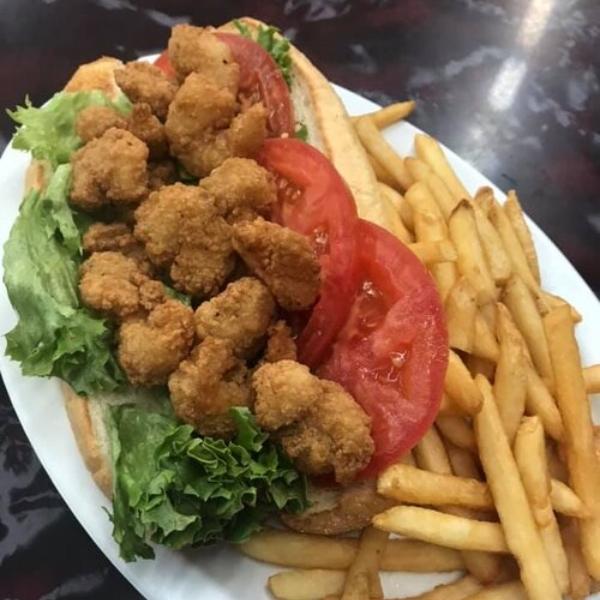 plate of food from owen's restaurant in dandridge, tn