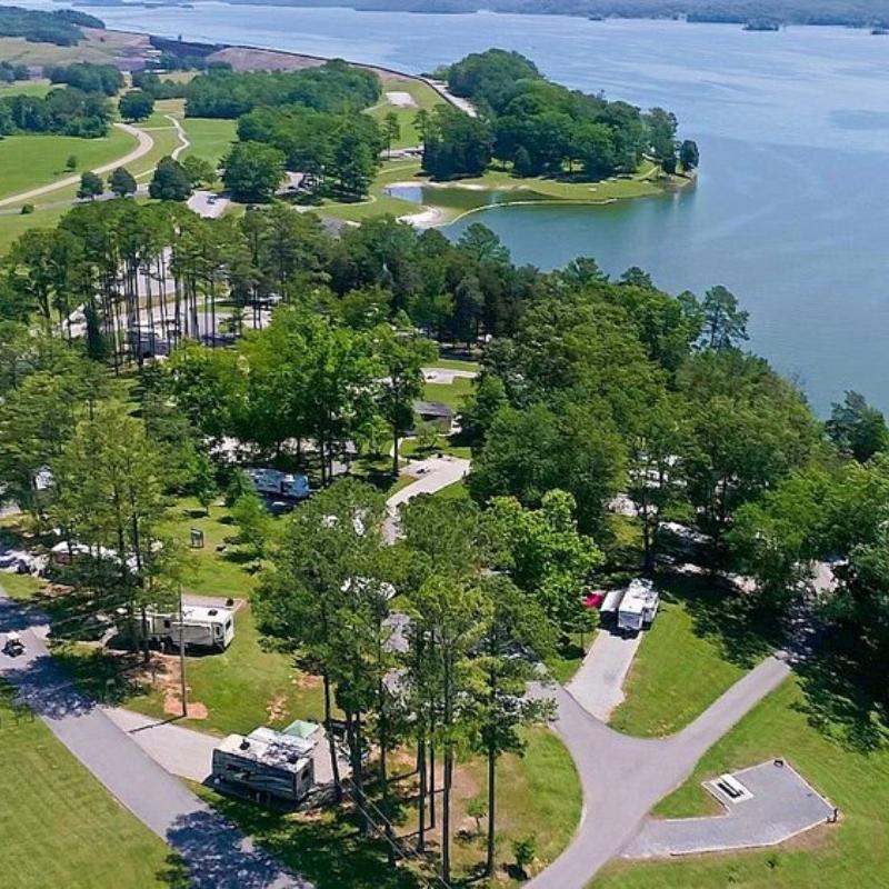 Cherokee Lake Dam Campground in Jefferson City TN
