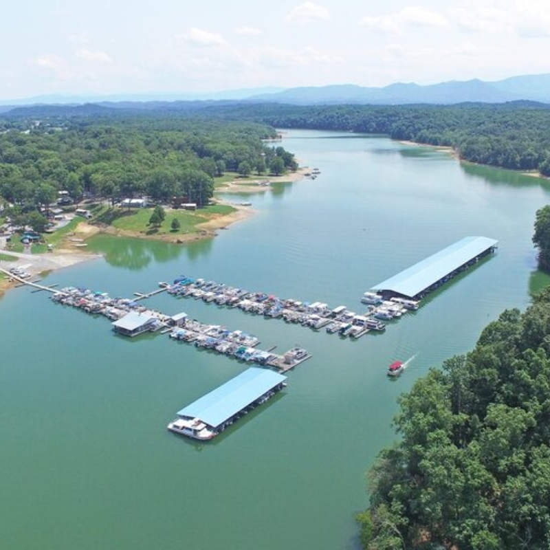 Swann's Marina on Douglas Lake in Dandridge TN