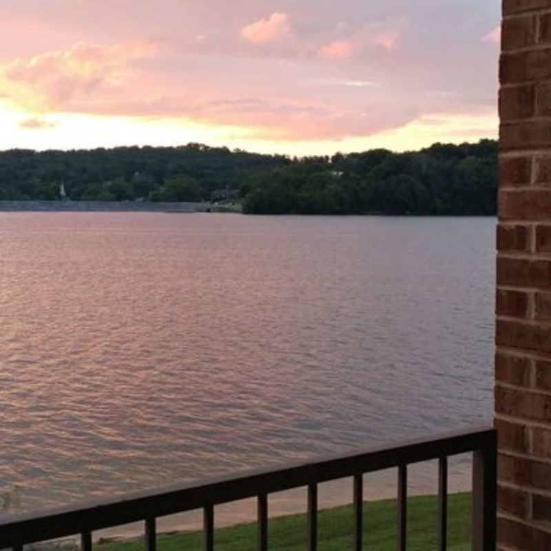 View of Douglas Lake from The Point Resort's lakeside condos