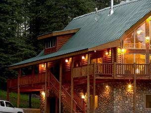 Cozy Cabin Thanksgiving