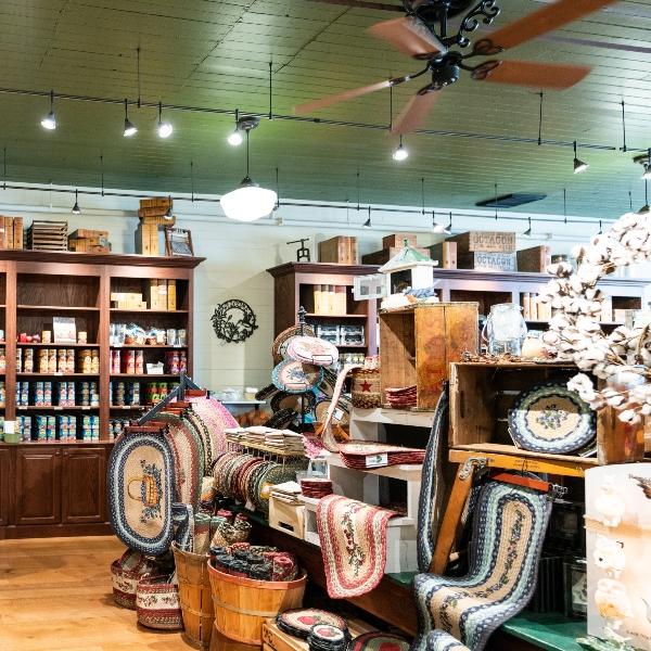 The general store inside Bush's Beans Visitor Center.