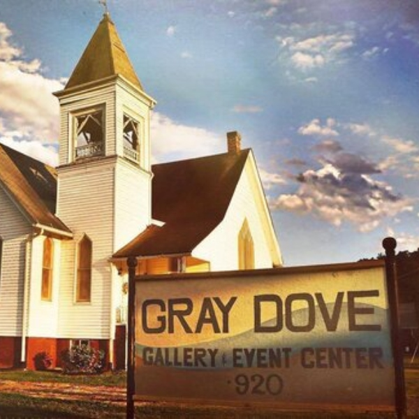 Front of the Gray Dove Studio Gallery