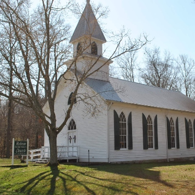 photo of a historic church located in east tennessee in jefferson county