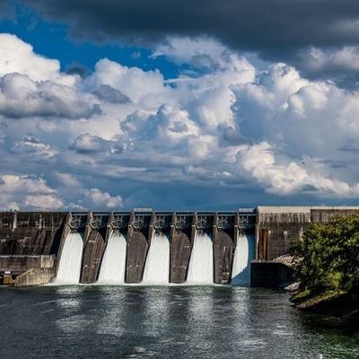 cherokee dam by TVA