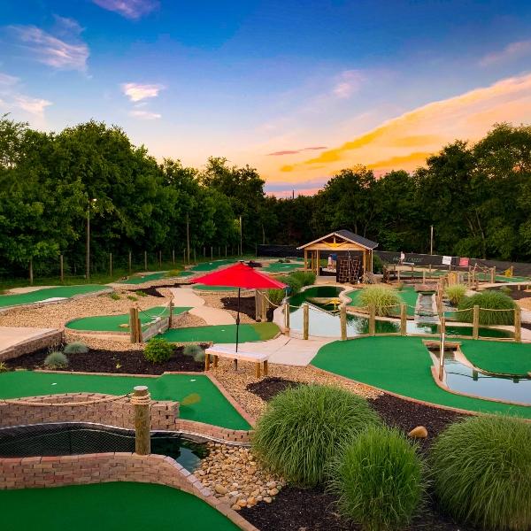 mossy creek mini golf course