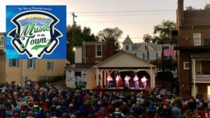 music on the town musical event in downtown dandridge tn