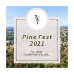 town of white pine's pine fest event graphic